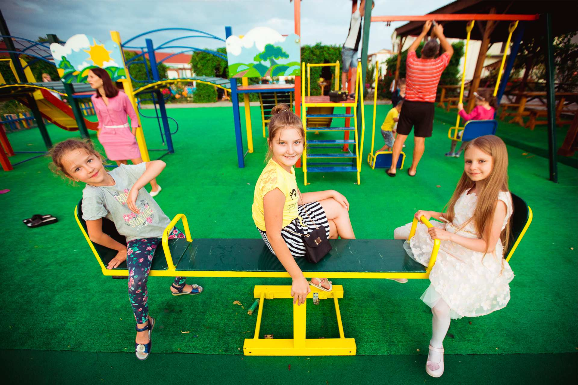 Children's Playground the hotel surroundings include